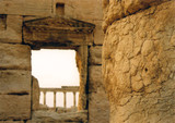 palmyra columns poster