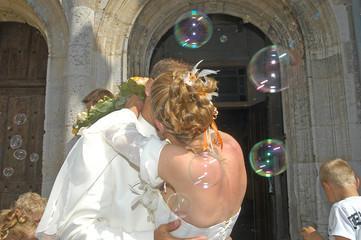 bisous des mariées