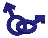 male symbols poster