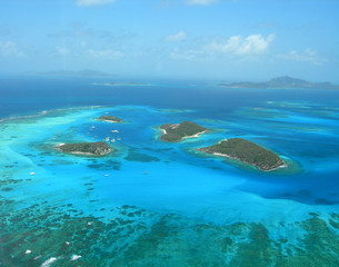 survol avion iles grenadines