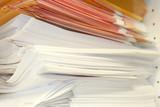 stacked envelopes poster