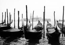 Wenecja, gondole