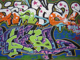 graffiti - alles vollgemalt poster