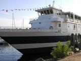 lake champlain ship. poster