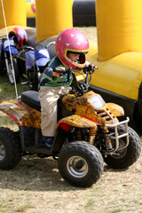 a quad bike ride