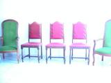 chaises de salon poster
