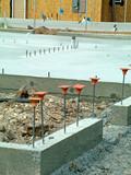 cement, concrete, rebar poster