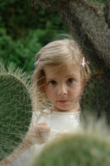 the child and the cactus