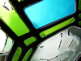 abstract glass poster
