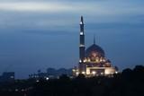 putrajaya mosque, kuala lumpur, malaysia. poster