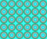 abstract circle  84 poster