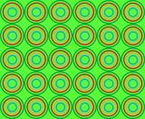 abstract circle  85 poster