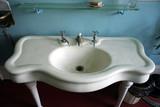 antique washbasin poster