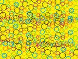 abstract circle  94 poster