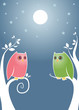 roleta: lovebirds at night
