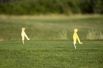 golfen - abschlag