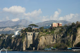 scenic view of sorrento peninsula 2 poster