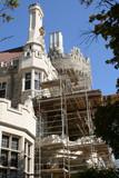 castle restoration poster