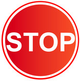 stop sign 6 poster