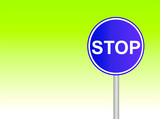 stop sign 8 poster
