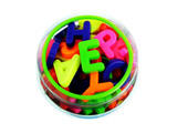 magnetic letters poster