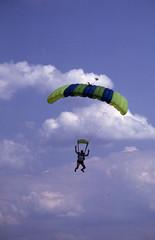 aerial diver