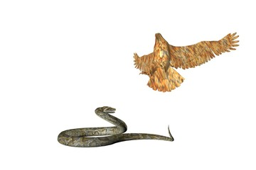 eagle and the snake