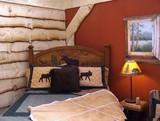 rustic bedroom poster