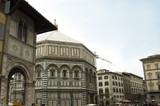 baptistery of st john or di san giovanni, florence poster