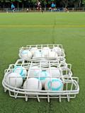 field hockey balls poster