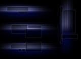 blue tech logoset poster