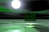alien cube poster