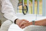 seniors holding hands poster