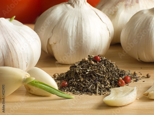 garlic & spices