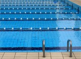 competition swimming pool poster