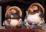 lucky figurines couple poster