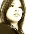 beautiful proud young hispanic business woman poster