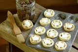 home made mince pies poster