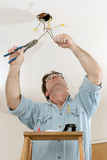 electrician at work poster
