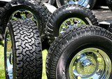 new large truck tires poster