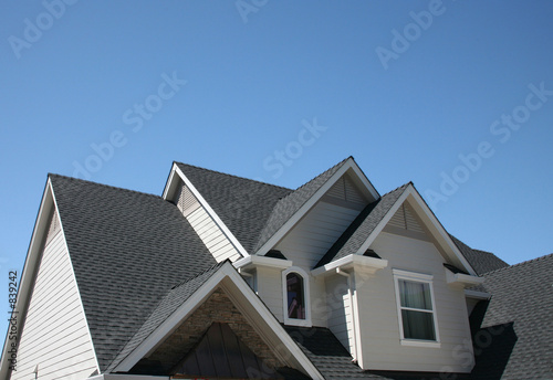 canvas print picture multiple roof lines
