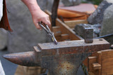 medieval blacksmith poster