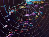 secondary surveillance radar situation display poster