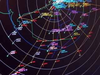 secondary surveillance radar situation display