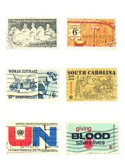 stamps: us vintage stamps 6 cent
