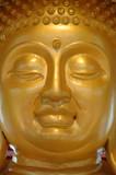 face of golden buddha poster