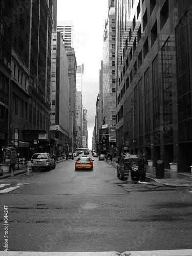 Fototapeten,taxi,new york,autos,schwarzweiß