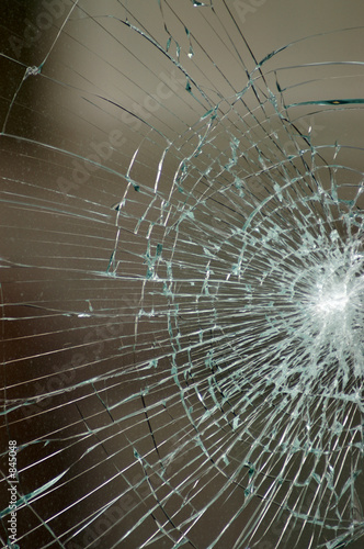 2nd smashed window