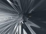 grey fantastic abstract poster