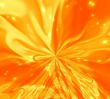orange magic smoke poster